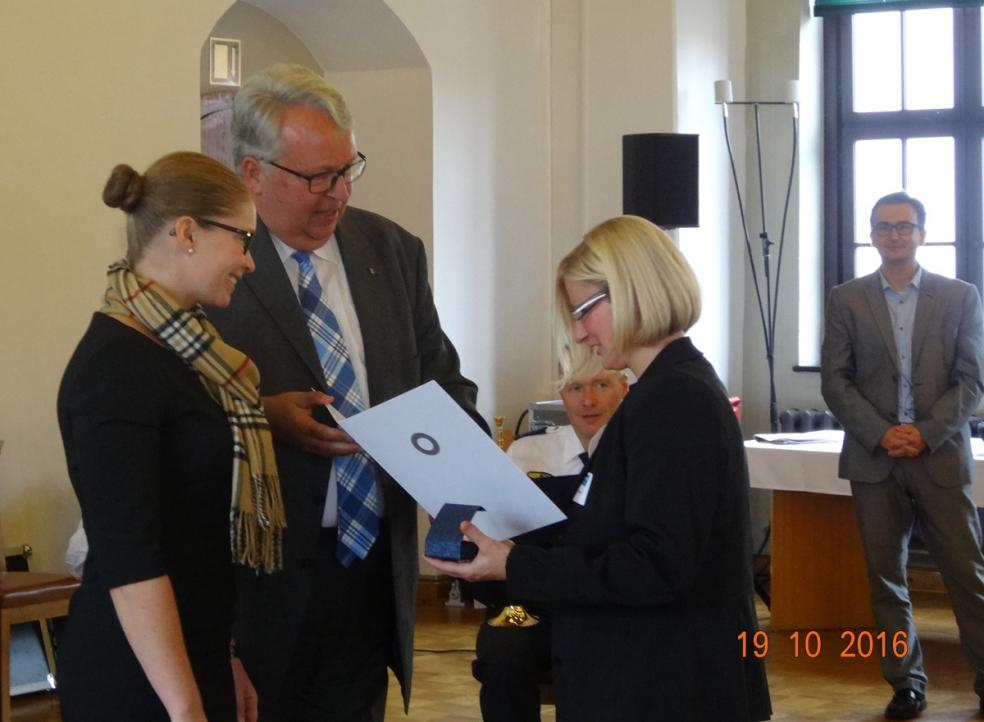 Auszeichnung für Ehrenamtsarbeit